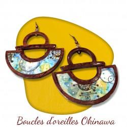 BOUCLES D'OREILLES OKINAWA